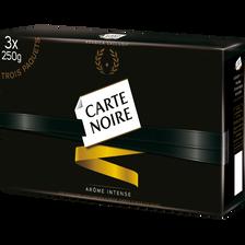 Carte Noire Café Moulu Classique , 3 Paquets De 250g