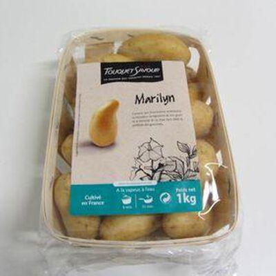 Pomme de terre Marylin de consommation  1 KG - chair ferme - France - cat 1 - cal 30/50 -
