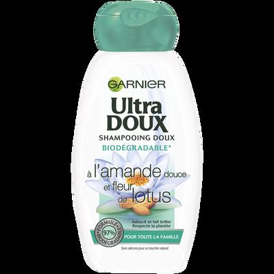 Shampooing amande et lotus ULTRA DOUX, 250ml