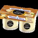 Mamie Nova Liégeois Gourmand À La Vanille Coeur Caramel Beurre Salé , 2x120g