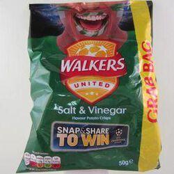 WALKERS SALT & VINEGAR 50G