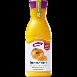 Pur jus réfrigéré mandarine et clémentine pulpé INNOCENT, bouteille de900ml
