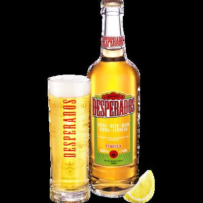 Bière aromatisée téquila, DESPERADOS, 5,9°, bouteille de 65cl