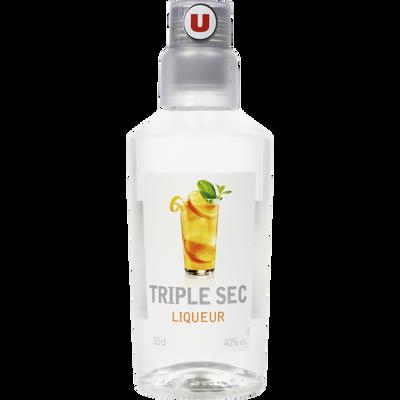 Liqueur Triple Sec U, 40°, bouteille de 50cl