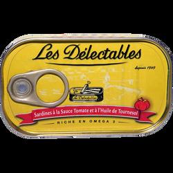 Sardine à la tomate LES DETECTABLES, 90g