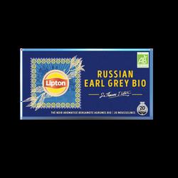 Thé noir aromatisé bergamote agrumes LIPTON, 34g