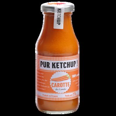 Ketchup de carotte PUR KETCHUP, bocal de 275g
