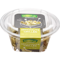 Antipasti artichauts grillés, barquette, 125g