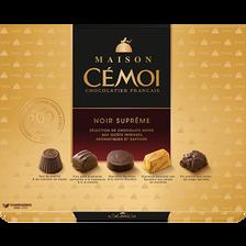 Cémoi Chocolat Suprême Noir Maison , Boite De 400g