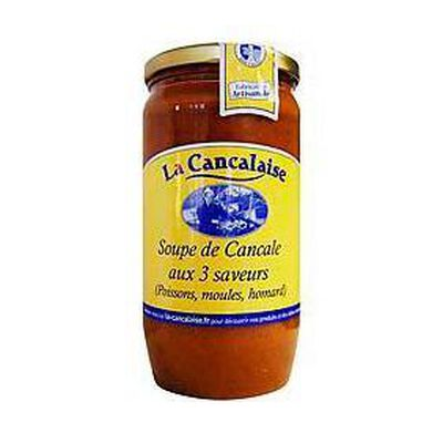 Soupe de Cancale aux 3 saveurs LA CANCALAISE, 440ml