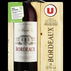 Vin rouge AOP Bordeaux La Grande Lice U, 3l