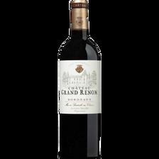 Vin rouge Bordeaux AOP château Grand Renom, bouteille de 75cl