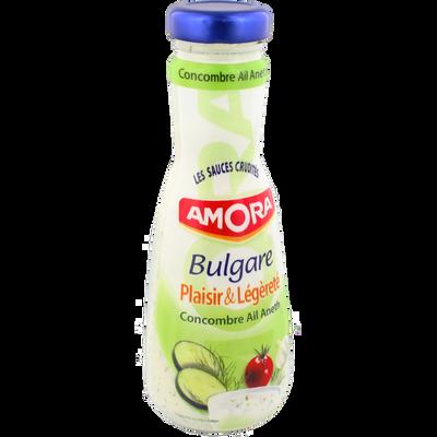 Sauce crudités Bulgare au concombre, ail et aneth AMORA, 290ml