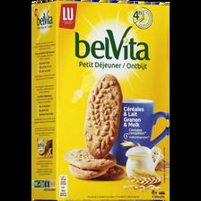 Biscuits au lait et céréales Petit Déjeuner LU, 400g