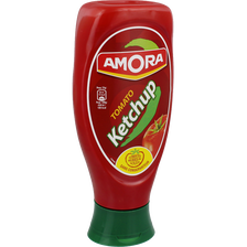 Amora Ketchup Nature , Flacon Souple Top Down De 550g