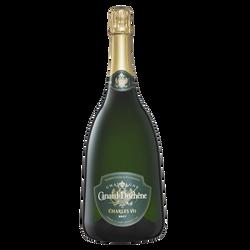 Champagne brut Charles VII magnum CANARD DUCHENE, bouteille de 1,5l