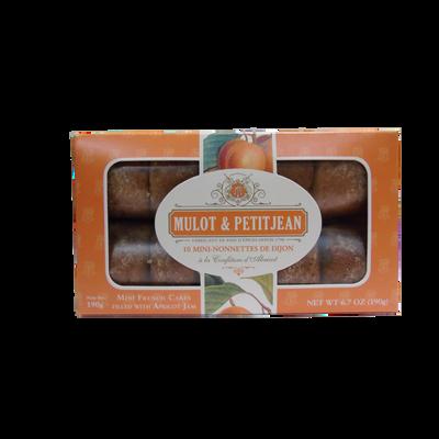 Mini nonnettes à l'abricot MULOT ET PETITJEAN, boite de 10