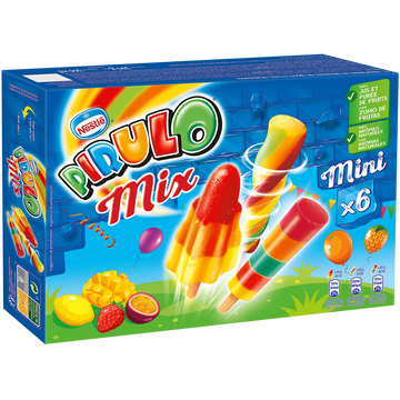 Nestlé Pirulo Assortiment Nestle, X6 Soit 300g