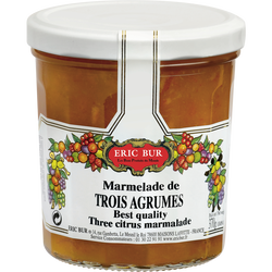 Marmelade 3 agrumes ERIC BUR, 370g