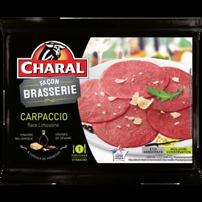 Carpaccio façon brasserie, CHARAL, France, 120g