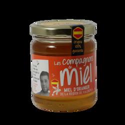Miel d'oranger de la région de Valence COMPAGNONS MIEL, 250g