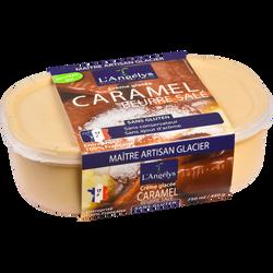 Crème glacée au caramel au beurre salé L'ANGELYS, 450g
