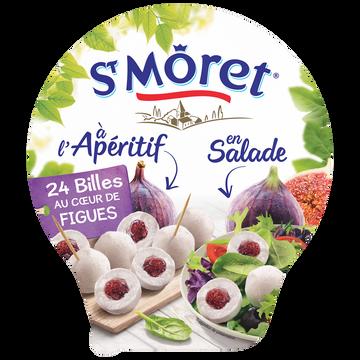 St Môret Fromage Lt Past.st Moret Apéritif Billes Figues 28%mg 100g