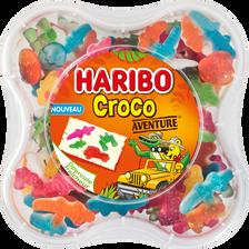 Assortiment de bonbons croco aventure HARIBO, boîte de 570g