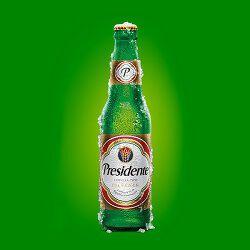 Bière, PRESIDENTE, 5°, le pack de 6x25cl