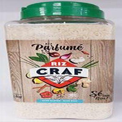Riz parfumé thaï, CRAF, bidon de 3kg