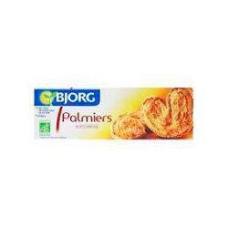 Palmiers bio BJORG, paquet de 100g