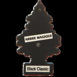 Désodorisant voiture ARBRE MAGIQUE, parfum black classic
