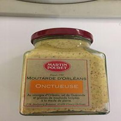 MOUTARDE D?ORLÉANS ONCTUEUSE