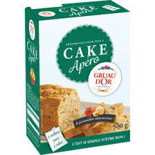 Cake apéro GRUAU D'OR 500g