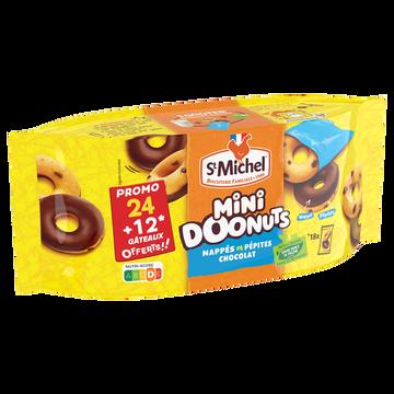 St Michel Mini Donuts Saint Michel 24+12offerts 540gr