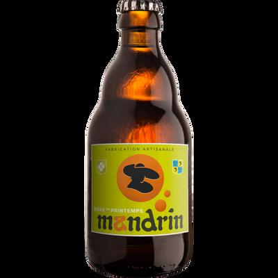 Bière de Printemps MANDRIN 4,8°, bouteille 33cl