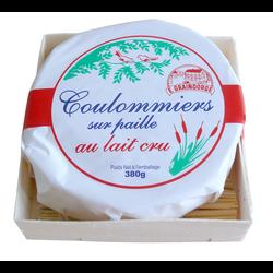 Coulommiers au lait cru, 23%MG, paille 380g