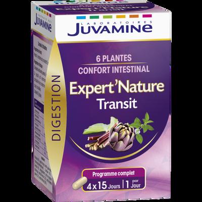 Digestion transit formule optimale JUVAMINE, 60 gélules