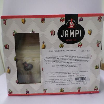 Délice vanille-caramel au beurre salé JAMPI, 1145ml