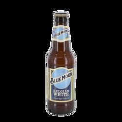 Bière blanche Blue Moon Belgian White 5,4°, bouteille de 33cl