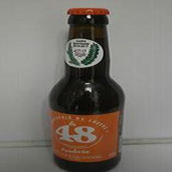 Bière Ambrée La 48 BRASSERIE DE LOZERE 5% Vol., 33cl