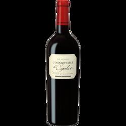 Vin rouge IGP Aude Hauterive Indomptable de Cigalus, bouteille de 75cl