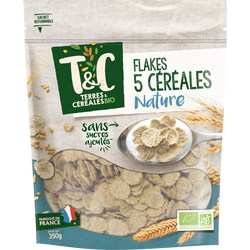 FLAKES 5 CEREALES 350 g TC AB*