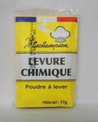 Levure chimique 11 gr x 5 Lechampion