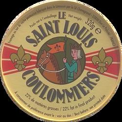 Coulommiers au lait pasteurisé SAINT LOUIS, 24%MG, 320g