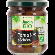 Tomates sechées bio JARDIN BIO, bocal de 190g