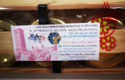6 pots de miel, Les Ruchers des barons d'Apcher, 6x45g
