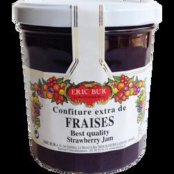Confiture extra fraises ERIC BUR, 370g