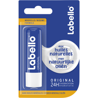 Stick pour les lèvres original sous blister LABELLO, 4,8g