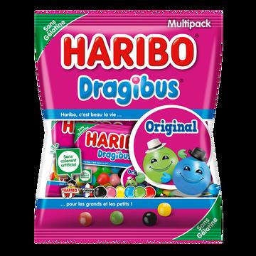 Haribo Confiserie Dragéifiée Dragibus Haribo Sachet Multipack 250g